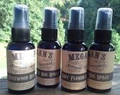 Bug Spray Essential OIl All Natural Mint Flower Spicewood Lemongrass Clove Cedarwood Peppermint