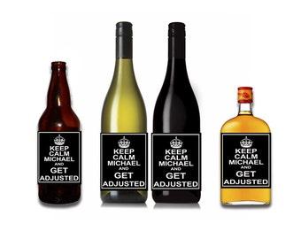 Keep Calm Wine / Liquor