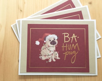 12ct Dog Christmas Cards Pet Themed Holiday Cards Blank Dog Etsy