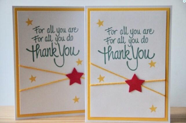 Teacher Appreciation Card Teacher Thank You Card For All You Are