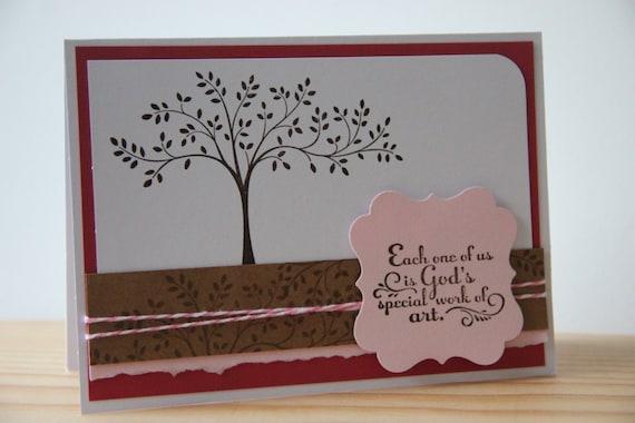Religious Greeting Card Handmade Card God Card Etsy