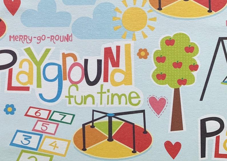 Recess Teacher Cards Park Playgroup Invitation 12ct Playground Card Set