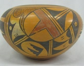 Native American Bowl 1950 39 s Traditional Hopi Bowl, by Ethel Youvella 250