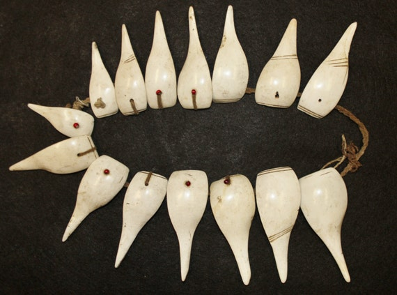 Shell Necklace : Authentic Konyak Tribe Woman's La