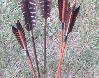 Custom Wooden Arrows- Made to Order