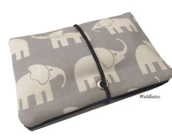 Tobacco bag/ Tobacco bag/ Changing bag * Elephant *