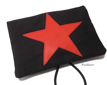 Tobacco bag/ Tobacco bag/ Swivel bag * Red Star *