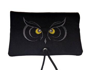 Tobacco bag/ Tobacco bag / Changing bag * Owl*