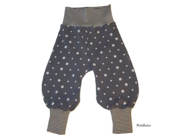 Pump pants *stars grey* - desired size