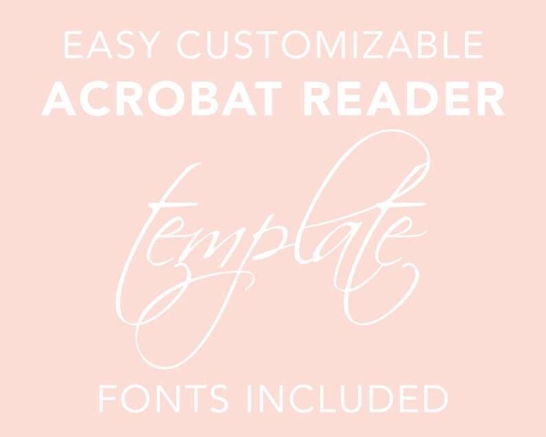 ENVELOPE ADDRESSING TEMPLATE Envelope Template Customizable Acrobat Reader Address Template Printable Wedding Envelope Editable pdf File