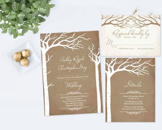 014 Instant Download Wedding Invitation Digital Wedding Set Editable Wedding Template Printable Template Wedding Invitation