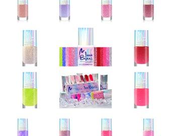 12pcs nail polish set Maga Inna Bajka 2 Collection glitter shimmer unicorn rainbow holographic indie shiny