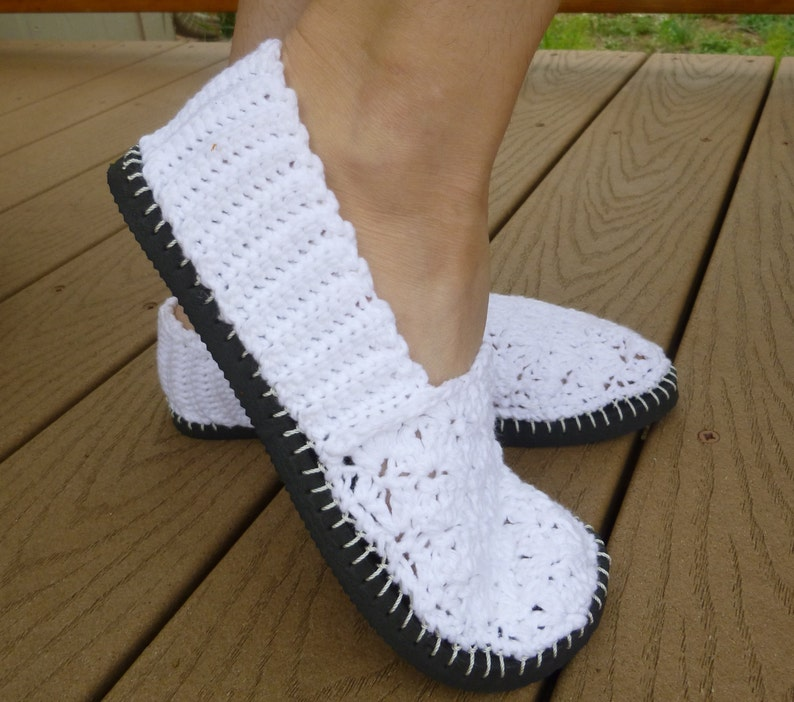 c2f3dccc25dcc Flip Flop Flats Crochet Pattern - How to Turn Flip Flops into Slip-on Shoes
