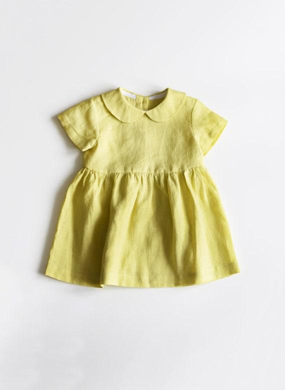 Toddler Dress with Collar