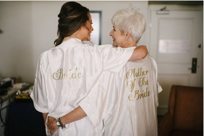 67141c31ea Personalised bride satin robes other roles and colours