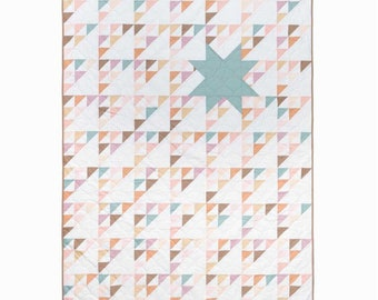 Northern Star Quilt Kit - Cover Quilt - Art Gallery Fabrics