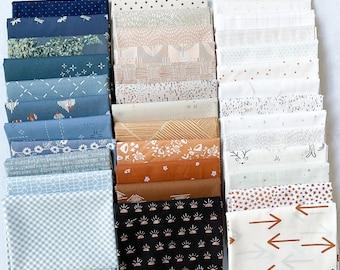 Front Porch Quilt Bundle - 37 Piece Fat Quarter FQ Bundle - Gender Neutral