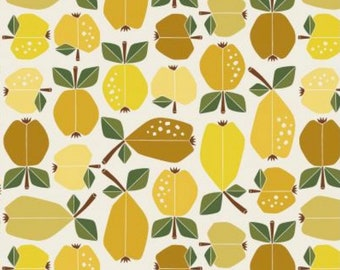 Golden Orchard - Under the Apple Tree - by Loes Van Oosten for Cotton+Steel - LV503-GO2