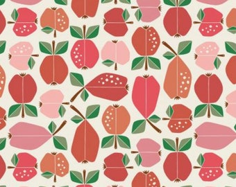 Apple Red Orchard - Under the Apple Tree - by Loes Van Oosten for Cotton+Steel - LV503-AR1