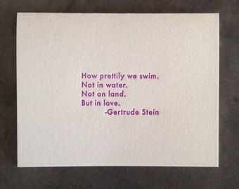Gertrude Stein Quote