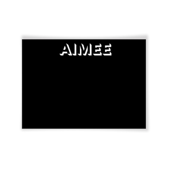 AIMEE | Printable Note Card