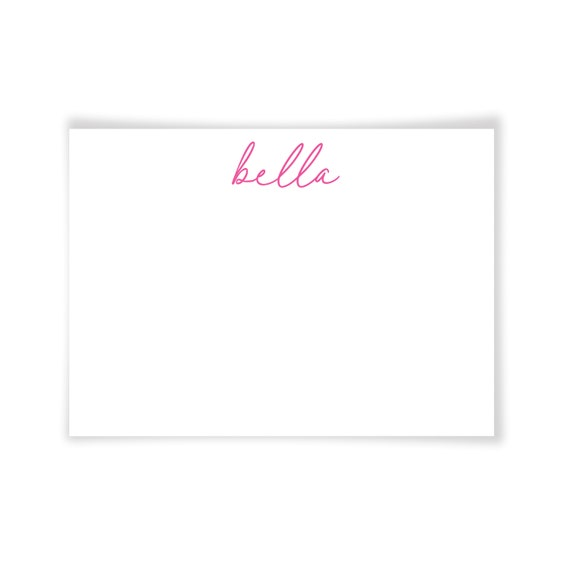BELLA | Printable Note Card