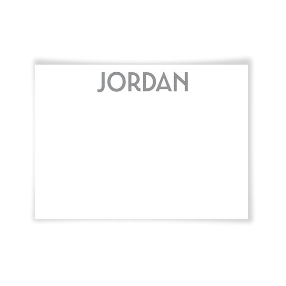 JORDAN | Printable Note Card