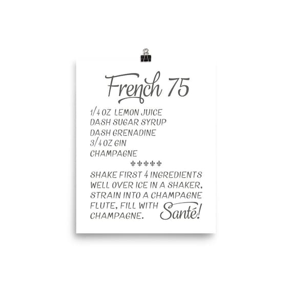 French 75 | Art Print