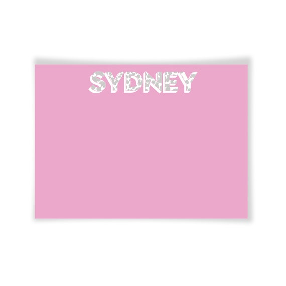 SYDNEY | Printable Note Card