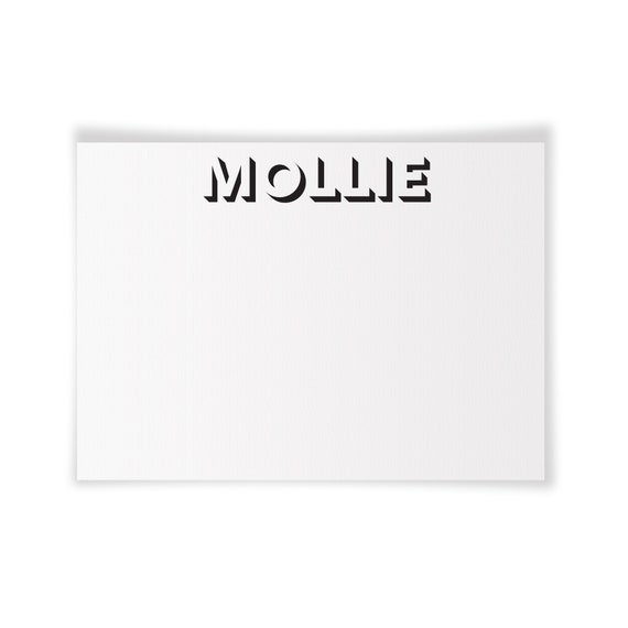 MOLLIE | Printable Note Card