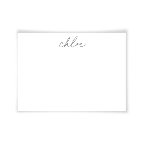 CHLOE | Printable Note Card