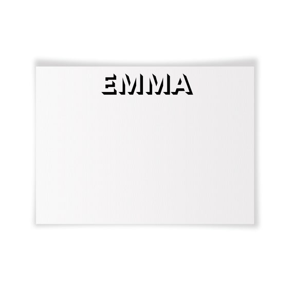 EMMA | Printable Note Card