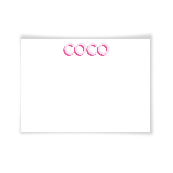 COCO| Printable Note Card