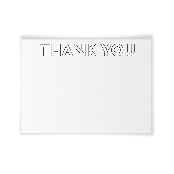 THANK YOU | Printable Note Card