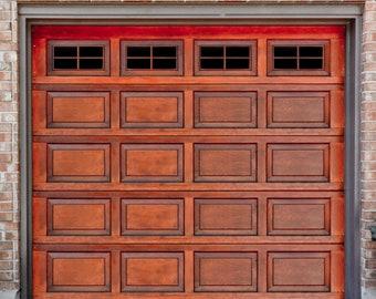Faux Garage Windows Etsy