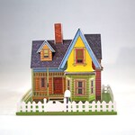 """Make your own miniature house inspired by the movie """"UP""""- digital download"""
