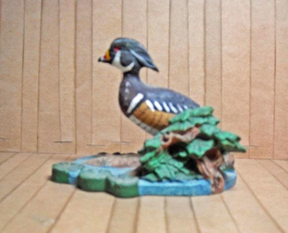 Avon Collection Wood Duck Miniature Figurine 1989