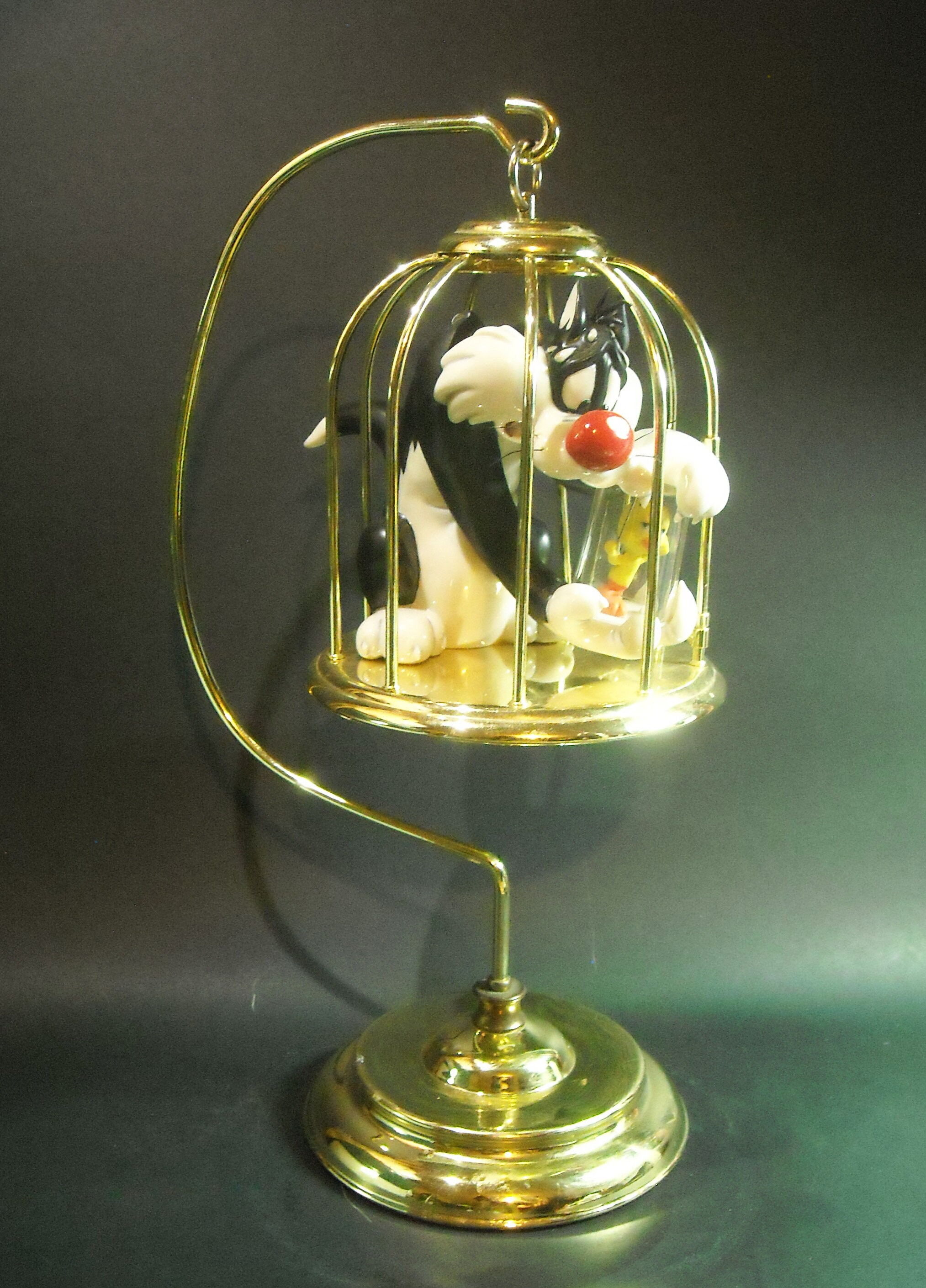 "Goebel Looney Tunes Spotlight Collection /""Bad Ol/' Puddy Tat/"",Sylvester /& Tweety"