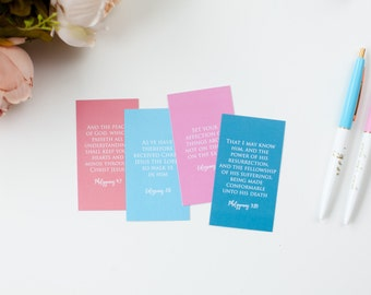 Joy in Christ Verse Cards
