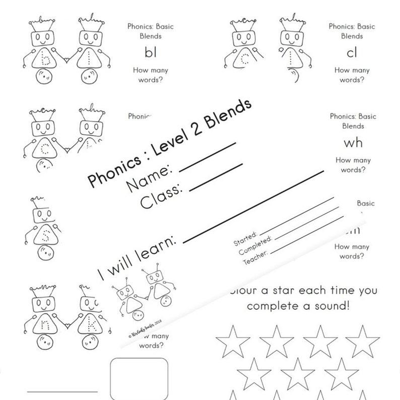 Level 2 Phonic Blends Phonics Worksheets Printable Worksheets