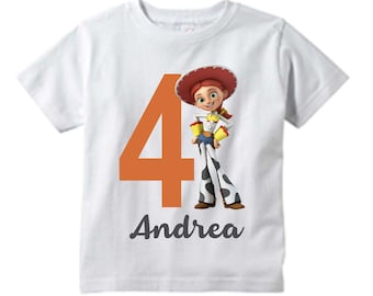 5cbed44d7 Toy Story Jessie custom t-shirt/ Jessie T-shirt / Toy Story