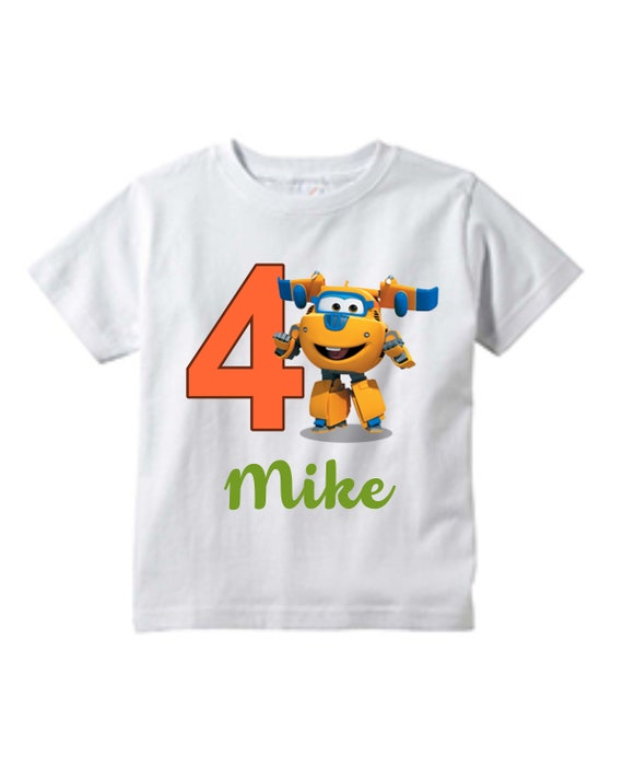 Super Wings Boys Jett and Jerome T-Shirt