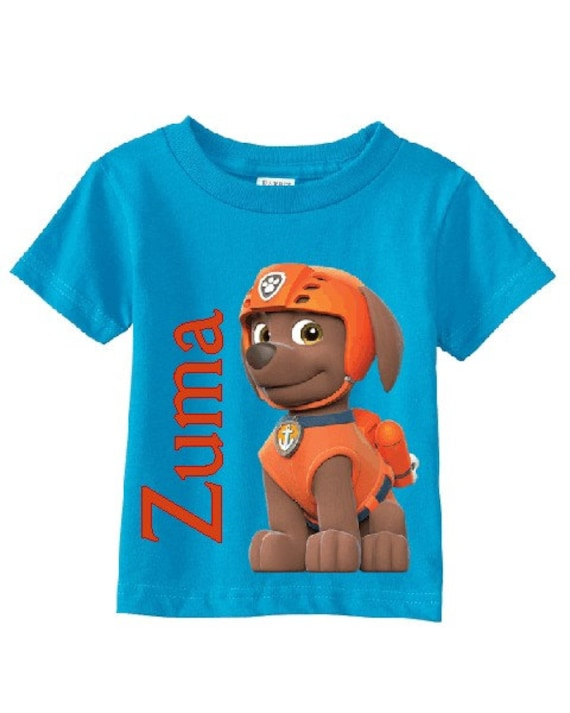 Paw Patrol Rubble Personalised Boys Girls T-Shirt Ideal Gift//Present