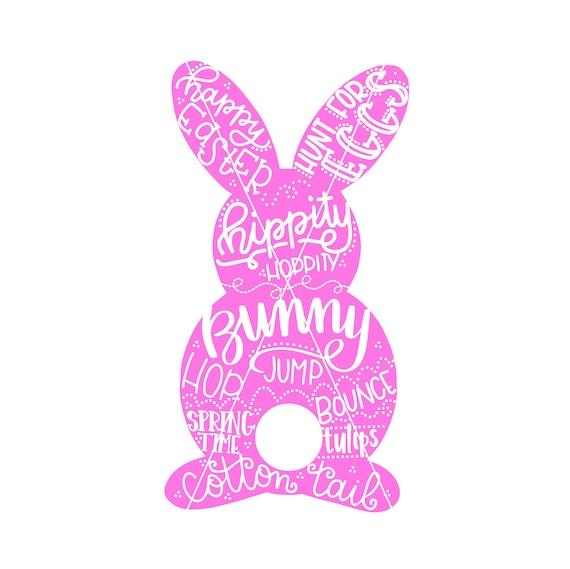 Download Easter Bunny SVG / Easter Cut file / SVG files for Cricut ...