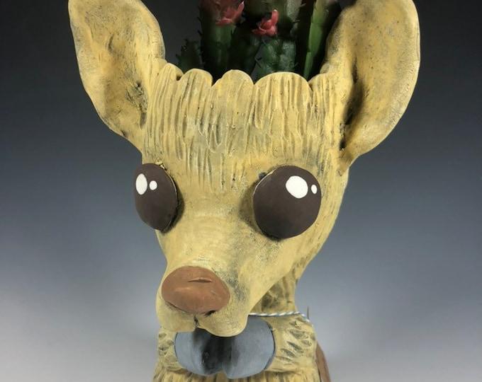 Lem the Llama Ceramic Planter // Little Llama Pothead