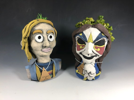 Doctor Who Inspired Succulent Pot // Doctor Who Pothead Planter