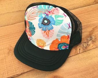 c542e51c Tropical Beauty - Medium Adult Trucker Hat