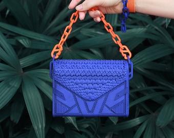 REUSABLE Futuristic 3D Printed Perforated Bag