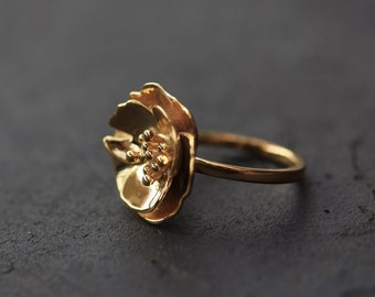Cherry Blossom 3D Printed ring