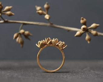 Mini Lotus Ring